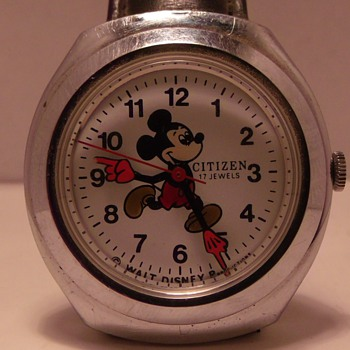 Citizen 17 Jewel Mickey Mouse