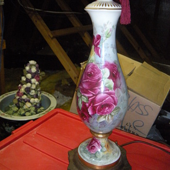sign rose pattern lamp - Lamps