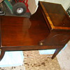 Is this a old table? like antique old? I would love some input on this pc'-I know nothing-Thank you--