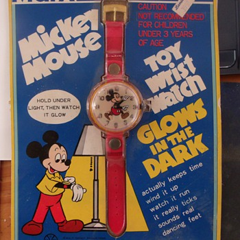 Marx Mickey Watch 1974 - Wristwatches