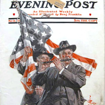 J. C. LEYENDECKER'S MAY COVERS - Paper