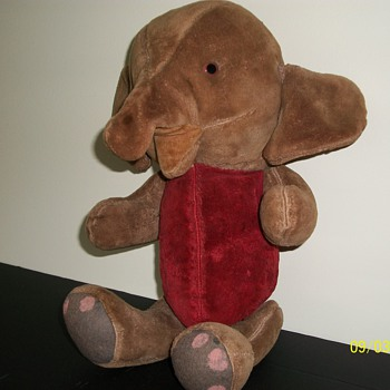 Elephant 16&quot; jointed - Dolls