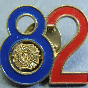 US - Veterans of Foreign Wars Pin 82