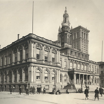 "Old City Hall,New-York City""1910-15"""