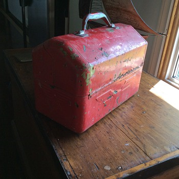 Vintage tool box - Tools and Hardware