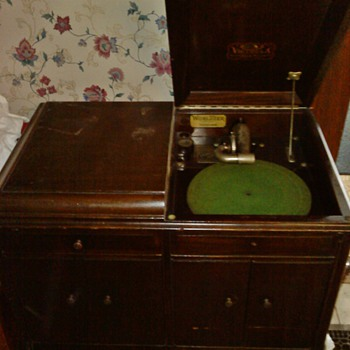 Victrola - Made by the Victor Talking Machine Co., of Camden, NJ