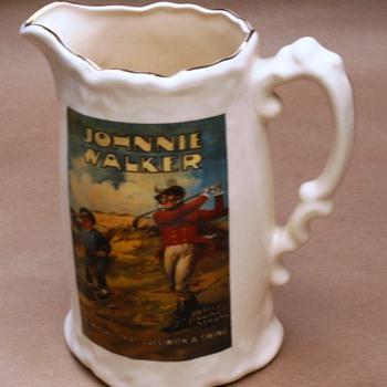 Johnnie Walker Jug - Breweriana
