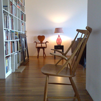 Some favorite chair's: Gaudi, Mid Century Modern Scandinavian, Kjaerholm, Eames and Rietveld.