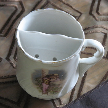 Mustache Cup - China and Dinnerware