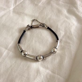 Silver bracelet!