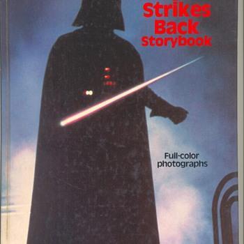 "1979 STAR WAR ""Empire Strikes Back"" StoryBook - Movies"