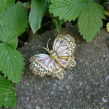 Butterfly Brooch - Fine Jewelry