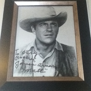James Arness Autograph