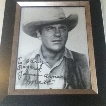 James Arness Autograph