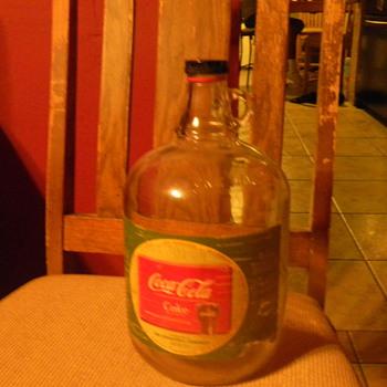 coca cola syrup jug  - Coca-Cola