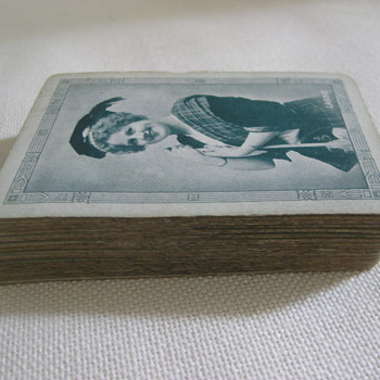 "Antique Waldorf ""Lassie"" Playing Cards - Cards"