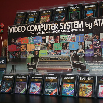 78 Sunnyvale Atari 2600 & 20th Century Fox Collection - Games