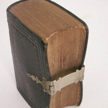 1850 Church Service Book (Post #1)