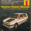 Haynes Repair Manual - VW Golf & Jetta