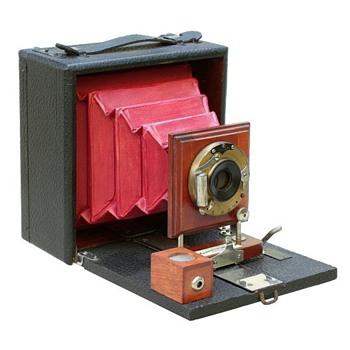 Onondaga No.6 Folding Plate Camera, c.1900-01 - Cameras