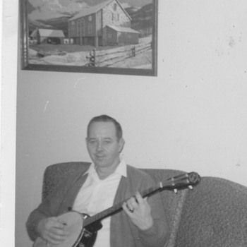 My Dad played Banjo ! The house was Rockin' - Photographs