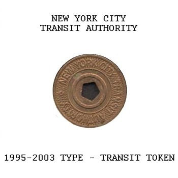 1995-2003 - New York City Transit Token