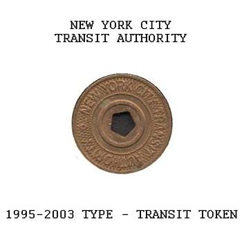 1995-2003 - New York City Transit Token