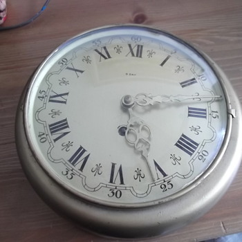 LESTER FIELD CLOCK 8 DAY.. NEEDING INFO