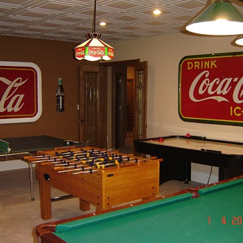 My &quot;Coke Room&quot; - Coca-Cola