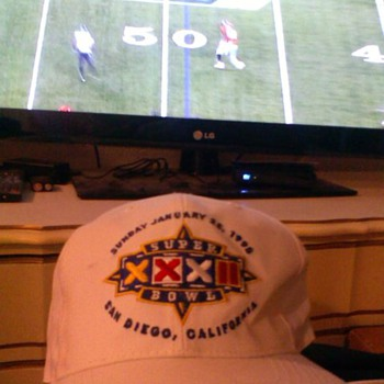 1998 Super Bowl XXXII Ball Cap ~San Diego, California - Football
