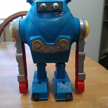 Old Toy Robot made in Japan