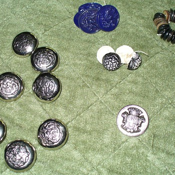 Uniform Buttons - Sewing