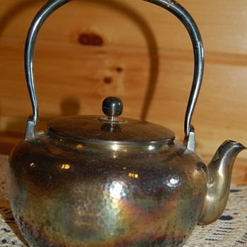 Silver Teapot Mystery - Sterling Silver