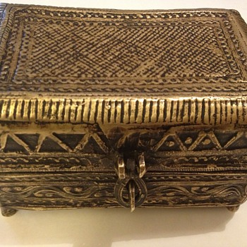 Brass box  late 1700's