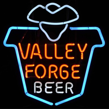 Valley Forge Beer - Signs