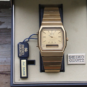 Seiko Quartz Chrono Alarm - Wristwatches