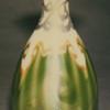QUEZAL ART GLASS WITH SILVER OVERLAY VASE, circa 1902