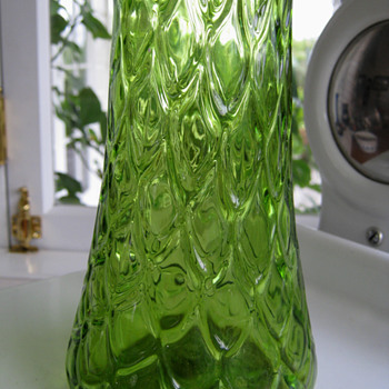 Mystery Tall Vase - Art Glass