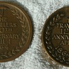 Travelers Insurance Co. 100th &amp; 125th Anniversary Medallions  