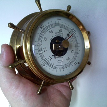 airguide barometer ,..looks old but probably not