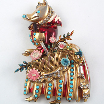Eisenberg Fun Figurals - Costume Jewelry