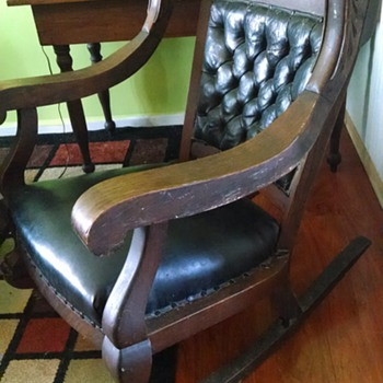 family rocking chair, any info needed - Furniture