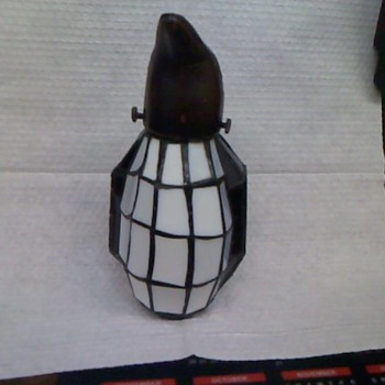 Potted head stain glass Penguin - Art Glass