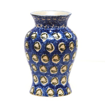 Traditional Bunzlau Vase (Germany/Poland), possibly 1930's - Art Pottery