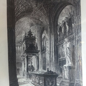 Charles Henri Toussaint Etching - Posters and Prints
