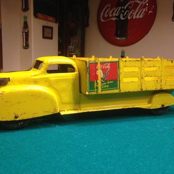 1940's Marx Coca Cola truck