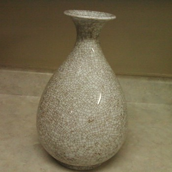 PEAR SHAPE VASE