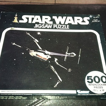 Star Wars Kenner jigsaw puzzle 1977 Unopened