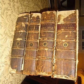 Scott&#039;s Bibles, The First American Edition From 1804 to 1809 - Books