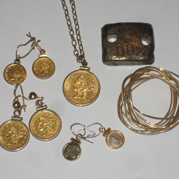 Gold Coins - Fine Jewelry